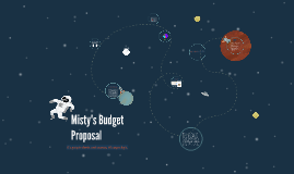 Misty's Budget Proposal