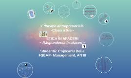 Copy of ETICA ÎN AFACERI