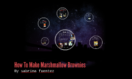 How To Make Marshmellow Brownies