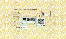 Personnes, Christian Boltanski