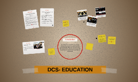 DCS- EDUCATION
