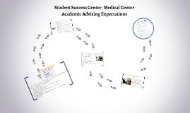 Student Success Center- Medical Center Academic Advising Expectations