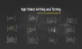 High-Stakes Writing and Testing
