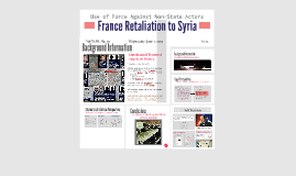 France Retaliation to Syria