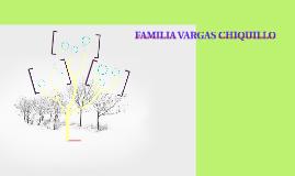 FAMILIA VARGAS CHIQUILLO