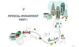 MFRS136: IMPAIRMENT