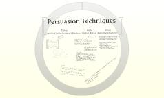 Copy of Persuasion Techniques