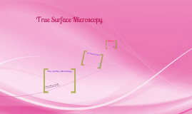 True Surface Microscopy