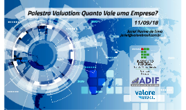 Palestra Valuation 11/09 - IFSULDEMINAS Passos-MG - Prof. Jaziel Lima