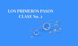 LOS PRIMEROS PASOS