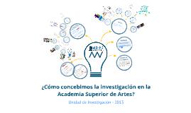Sistema de Investigación - SIASA -