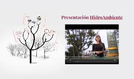 Presentación HidroAmbiente