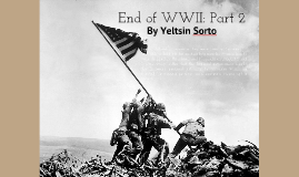 End of World War II by Yeltsin Sorto