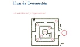 Plan de evacuación