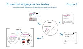 El uso del lenguaje en los textos