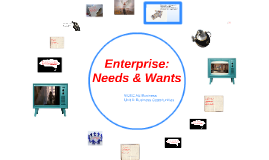 Enterprise: Needs and Wants