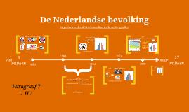 1HV H1 P7 De Nederlandse bevolking