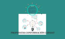 Propuestas conformación COPASST.