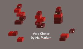 Verb Choice