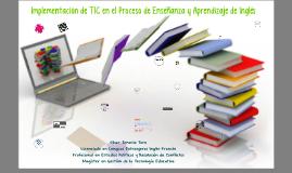 Implementación de TIC en la enseñanza del Inglés
