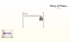 Diary of make
