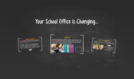 Copy of Your School Office is Changing