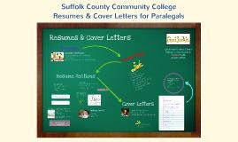 Paralegal SCCC Resume & Cover Letter Composition