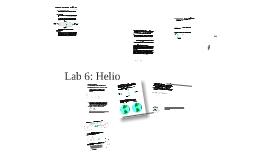 Lab 6: Helio