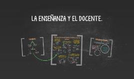 Copy of LA ENSEÑANZA Y EL DOCENTE.