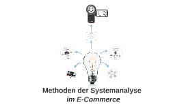 Methoden der Systemanalyse im E-Commerce