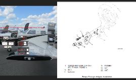 Pratt & Whitney PT6A-42A turboprop engine