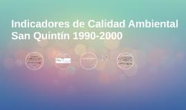 Calidad Ambiental 1990-2000