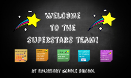Welcome to the superstars team!