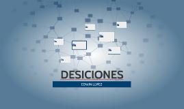 DESICIONES