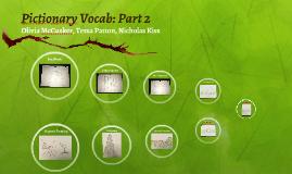 Pictionary Vocab: Part 2