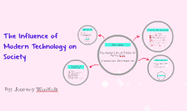 the influence of modern technology on society The effects of technology in society and the effects of technology in society and are considered factors in the social impact of computer technology.