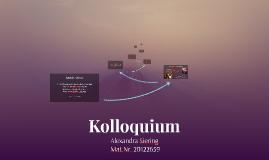 Kolloquium