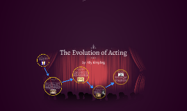 The Evolution of Acting