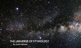 Astronomy Word Origins