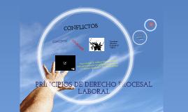 1.PRINCIPIOS DE DERECHO PROCESAL LABORAL
