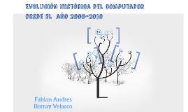 Copy of EVOLUCION HISTORICA DEL COMPUTADOR DESDE EL AÑO 2000-2010