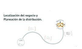 Localización del negocio y Planeación de la distribución.