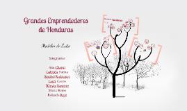 Copy of Emprendimientos Exitos en Honduras