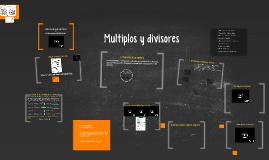 mate tema 4: múltiples i divisors