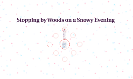 stopping by woods on a snowy evening by lindsay wheeler on prezi stopping by woods on a snowy evening