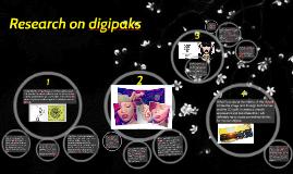 Research on digipaks