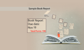 Sample Book Report