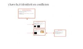 3 havo h1.8 identiteit en conflicten