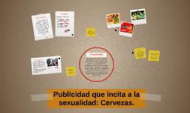 Publicidad que incita a la sexualidad