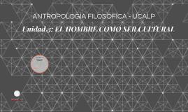 ANTROPOLOGÍA FILOSÓFICA - UCALP